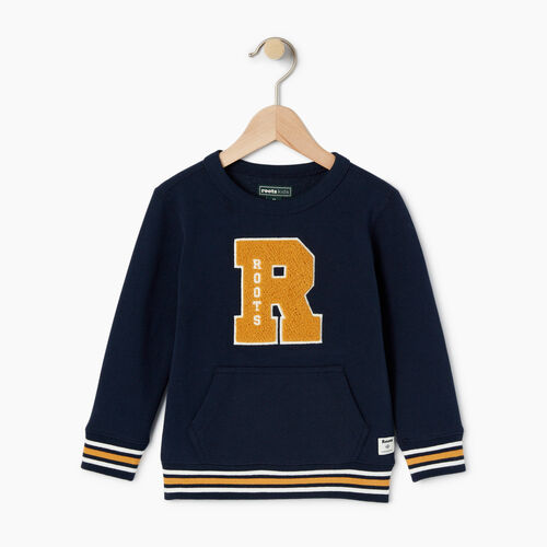 Roots-Kids Toddler Boys-Toddler Alumni Sweatshirt-Navy Blazer-A