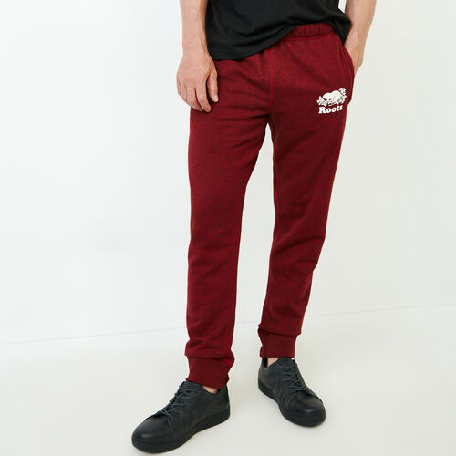 Roots-Men Sweats-Park Slim Sweatpant-Sundried Tomato Ppr-A