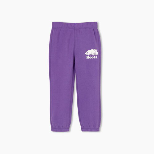 Roots-Kids Toddler Girls-Toddler Original Roots Sweatpant-Deep Lavender-A