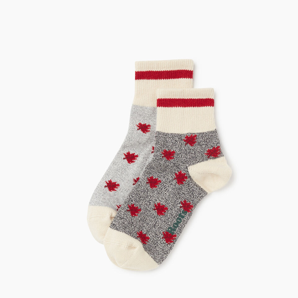 Roots-undefined-Maple Cabin Ankle Sock 2 pack-undefined-B