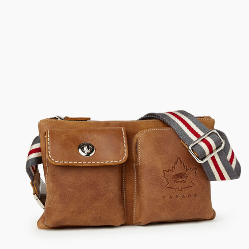 Roots-Leather Mini Leather Handbags-Heritage Canada Village Pack-Natural-A