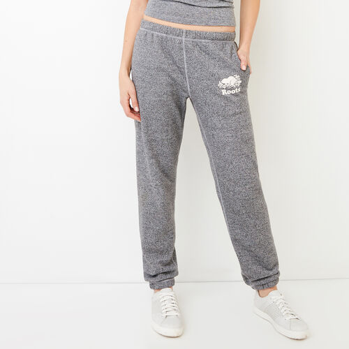 Roots-Women Collections-Roots Salt and Pepper Original Sweatpant - Short-Salt & Pepper-A