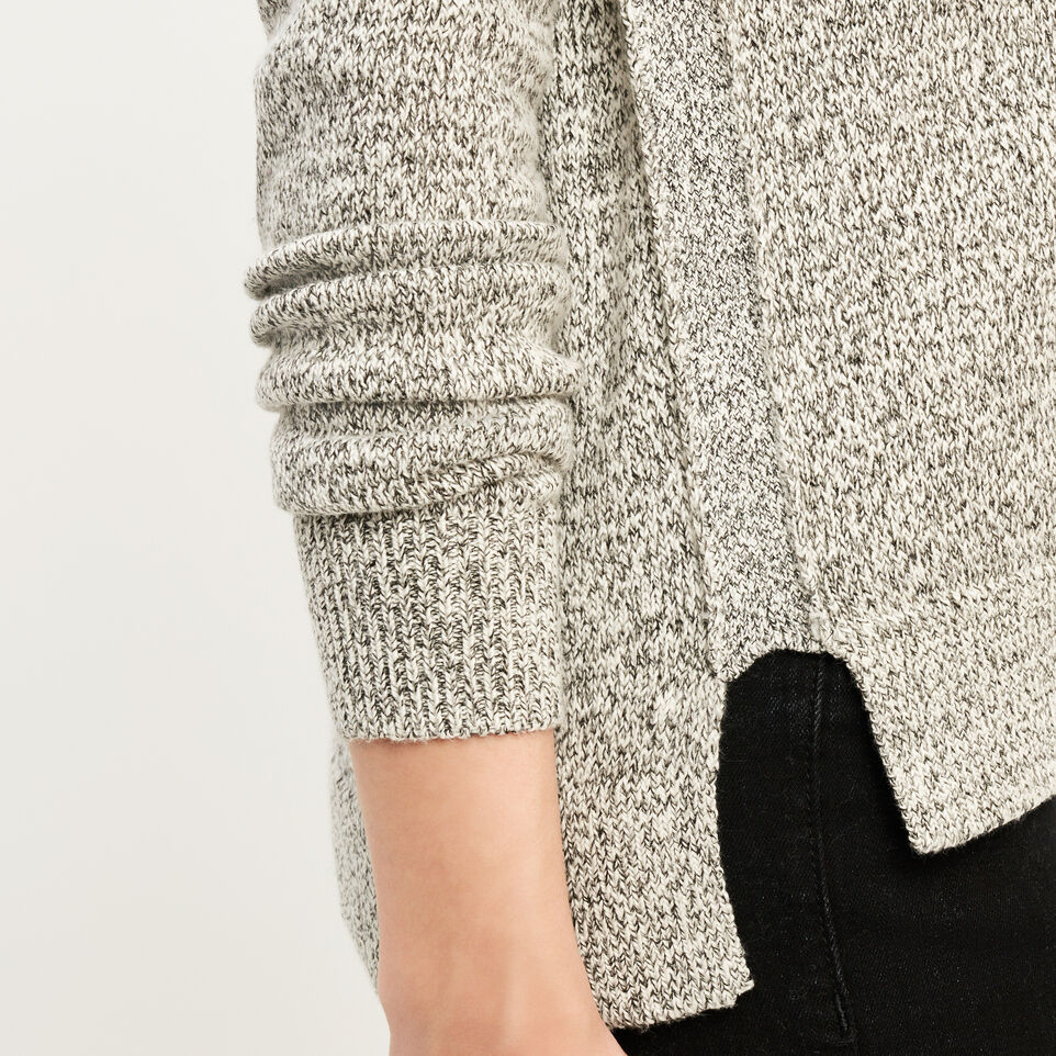 Roots-undefined-Snowy Fox V Neck Sweater-undefined-E