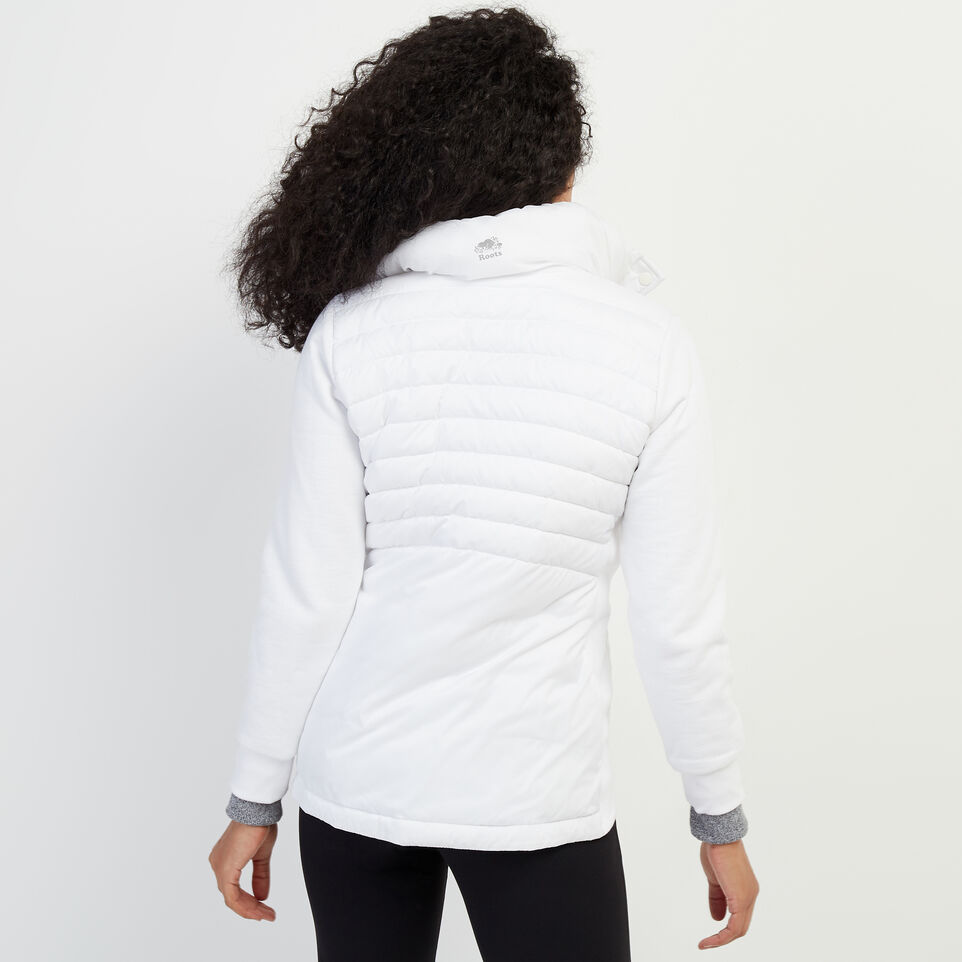 Roots-New For February Journey Collection-Journey Hybrid Jacket-White-D