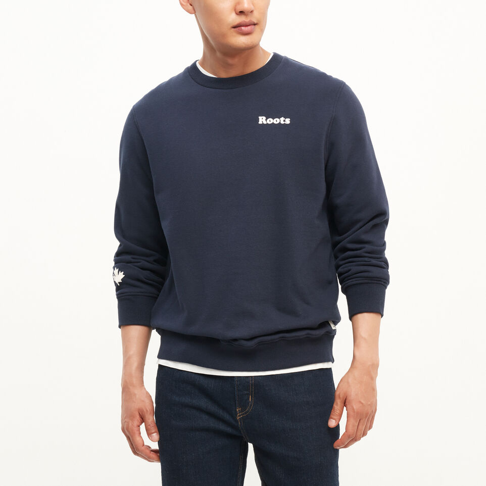 Roots-Remix Crew Neck Sweatshirt