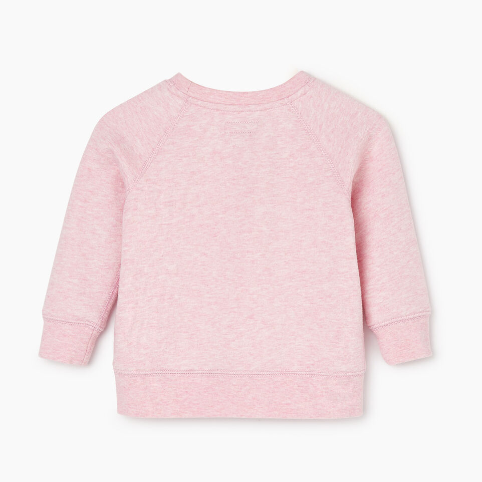Roots-New For December Kids-Baby Laurel Crewneck Sweatshirt-Fragrant Lilac Mix-B