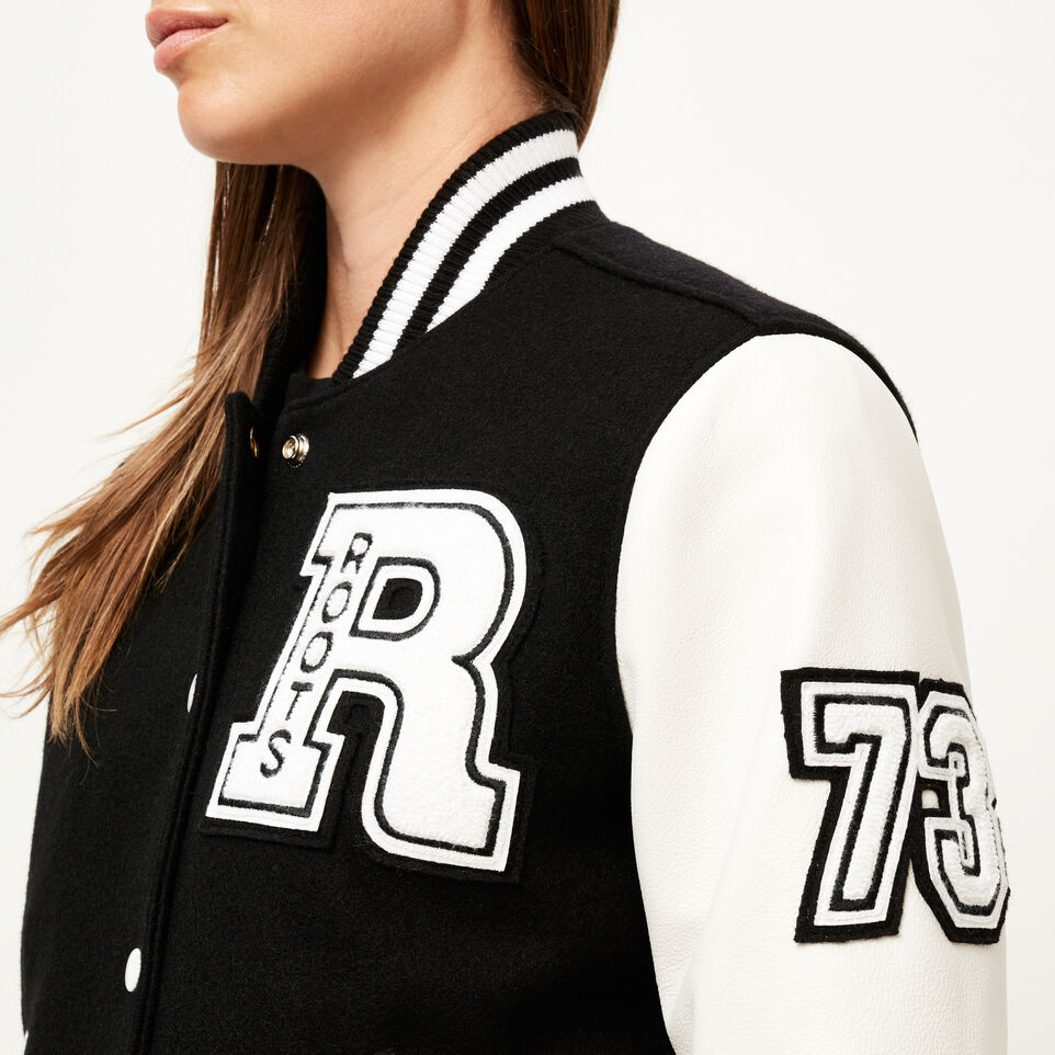 Roots-undefined-Blouson style universitaire rétro-undefined-E