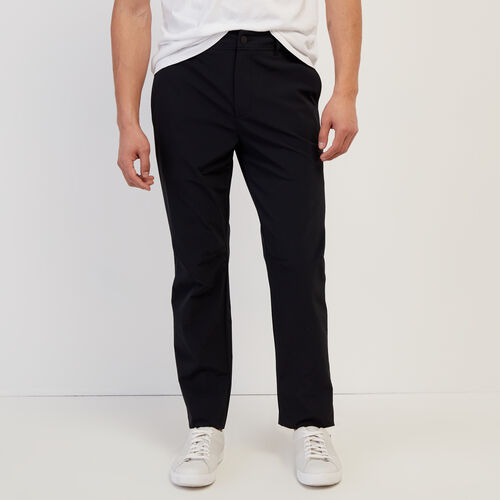 Roots-Men New Arrivals-Journey Tech Pant-Black-A