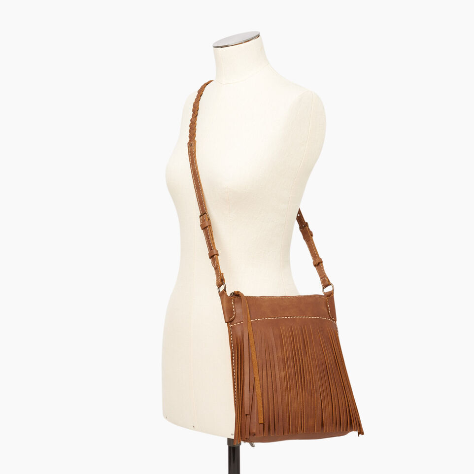 Roots-Leather  Handcrafted By Us Our Favourite New Arrivals-The Hippy Bag-Natural-B