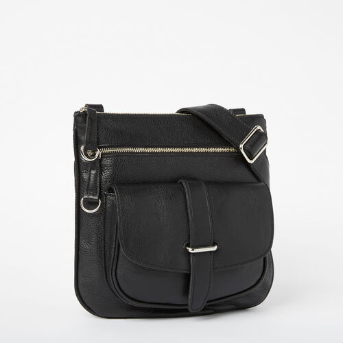 Roots-Leather  Handcrafted By Us Bestsellers-Side Saddle-Black-A