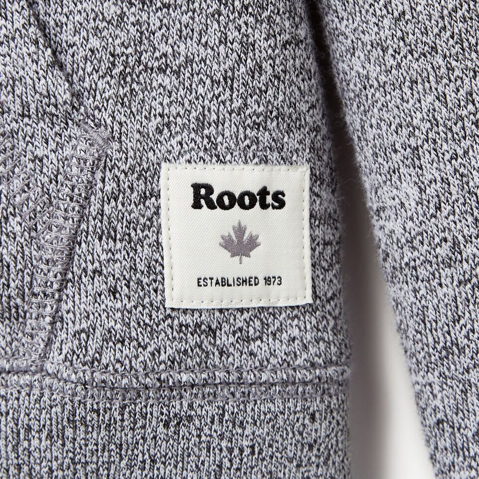 Roots-Kids Our Favourite New Arrivals-Girls Patches Full Zip Hoody-Salt & Pepper-C