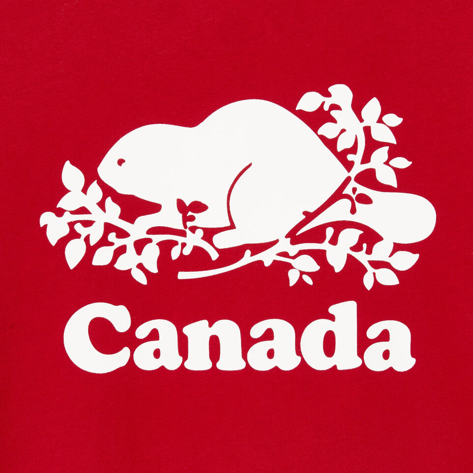 Roots-New For August Canada Collection By Roots™-Womens Roots Canada T-shirt-Sage Red-D