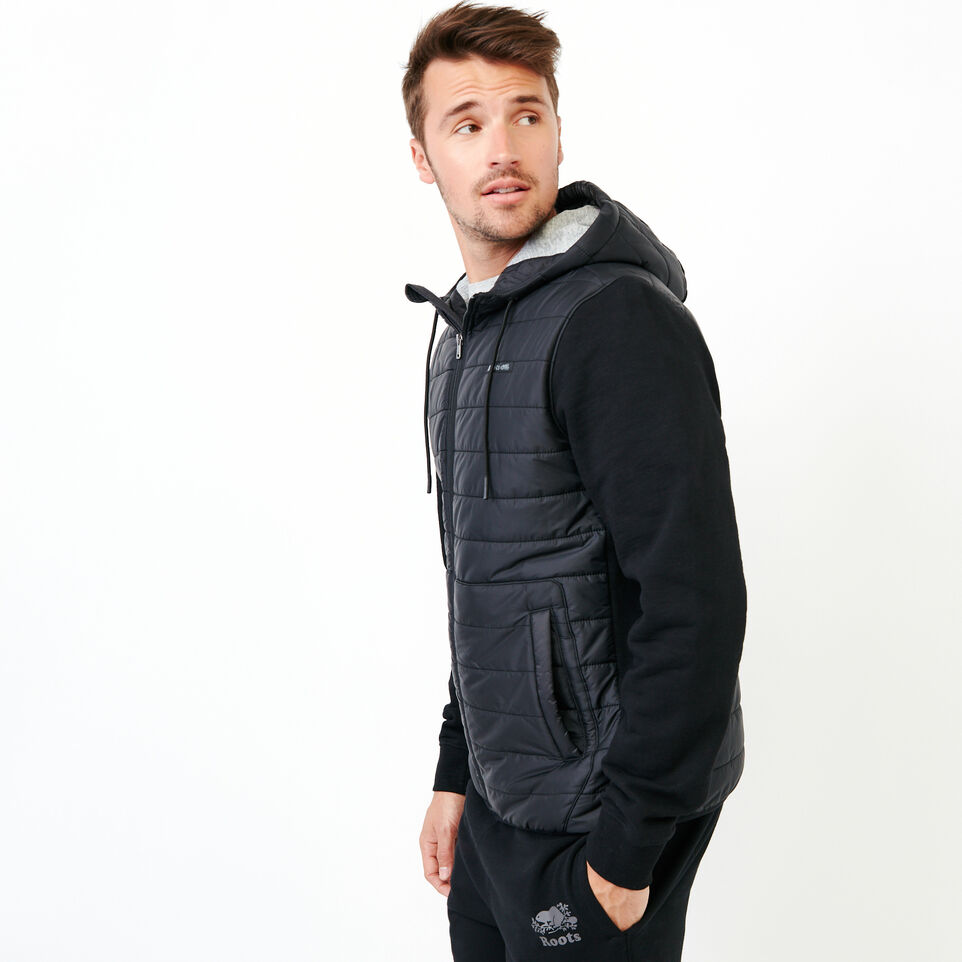 Roots-undefined-Roots Hybrid Hooded Jacket-undefined-C