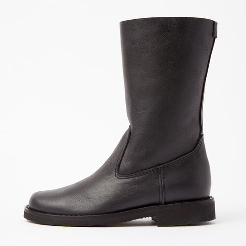 Roots-Sale Footwear-Roll Over Boot Tribe-Jet Black-A