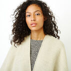 Roots-Women Accessories-Erindale Wrap-Flaxseed Mix-E