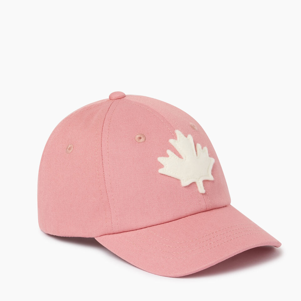Roots-Clearance Kids-Toddler Canada Baseball Cap-Pink-A