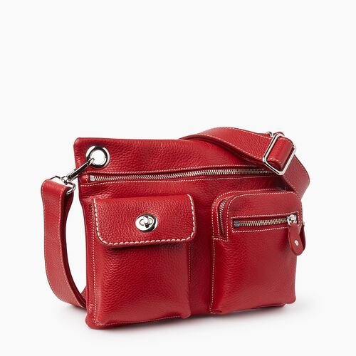 Roots-Women Crossbody-Village Bag Prince-Canadian Red-A