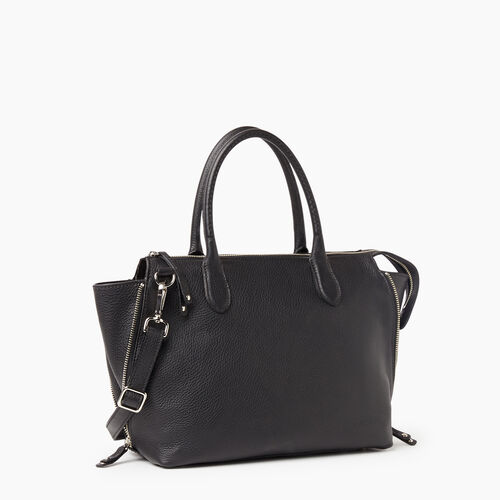 Roots-Leather New Arrivals-Arianna Bag Prince-Black-A