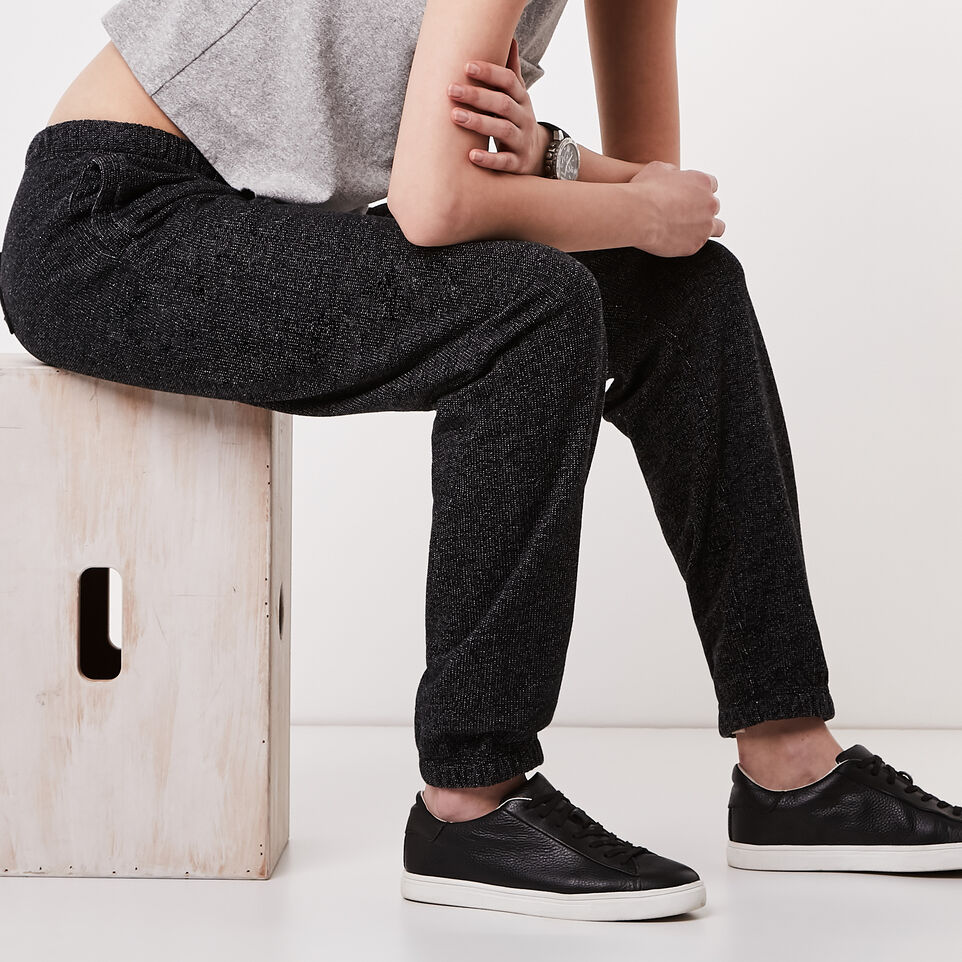 Roots-undefined-Roots Black Pepper Boyfriend Sweatpant-undefined-D