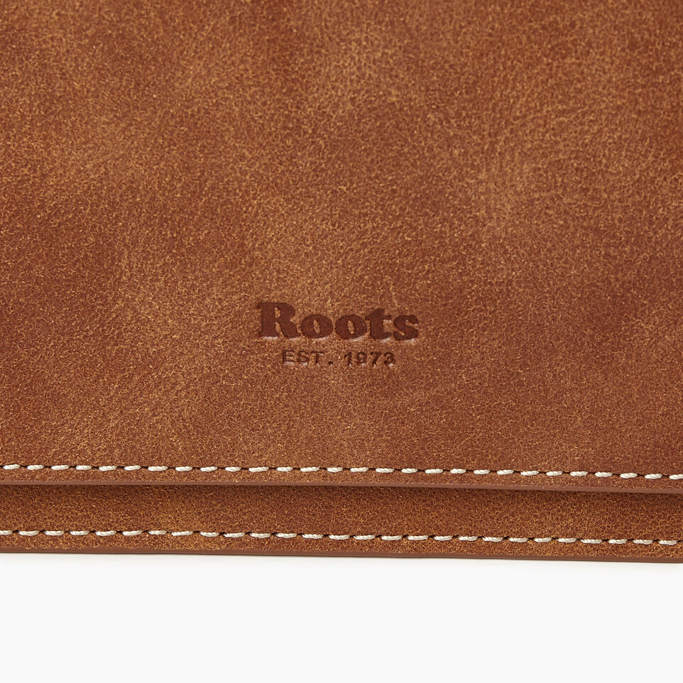 Roots-Leather Our Favourite New Arrivals-Sussex Wallet Bag-Natural-E