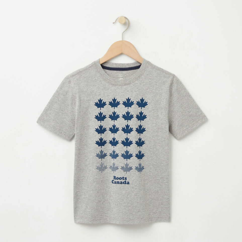 Roots-undefined-Boys Multi Maple T-shirt-undefined-A