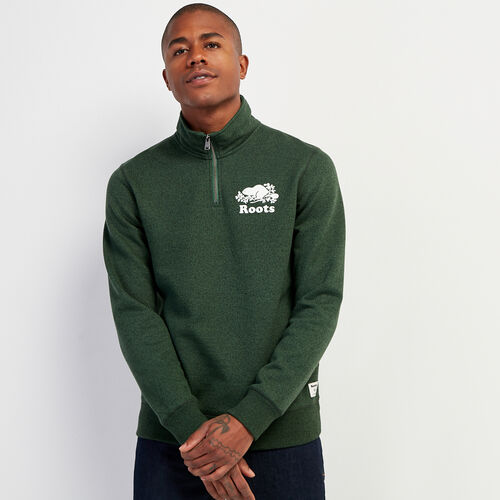 Roots-Men New Arrivals-Original Zip Stein-Camp Green Pepper-A