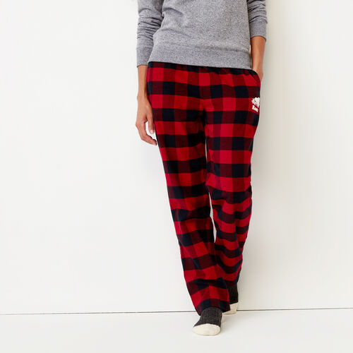 Roots-Winter Sale Women-Inglenook Lounge Pant-Lodge Red-A