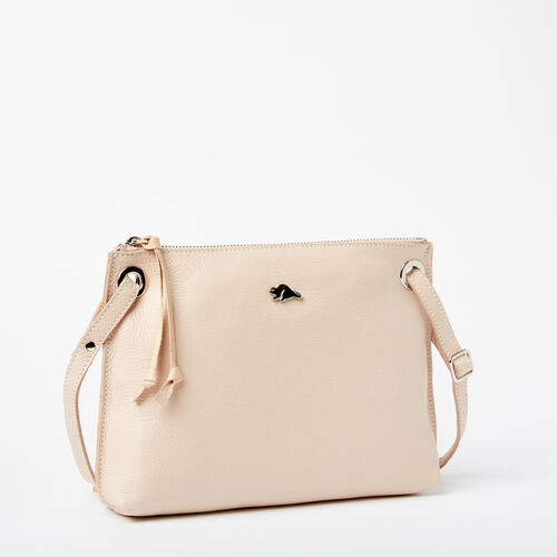 Roots-Winter Sale Leather Bags & Accessories-Edie Bag Prince-Blush-A