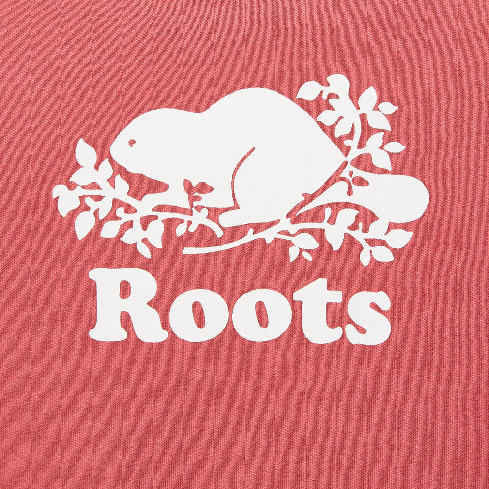 Roots-undefined-Baby Contrast Cooper Beaver T-shirt-undefined-C