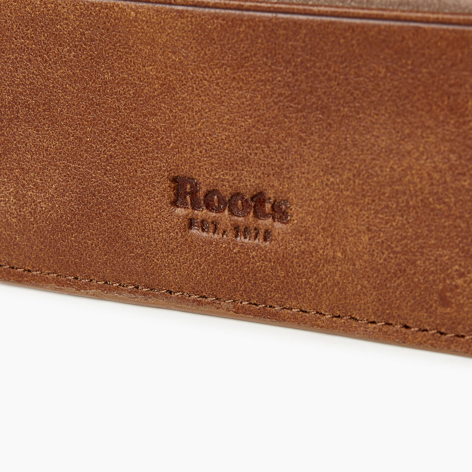 Roots-Women Categories-Card Holder-Champagne/ Natural-E