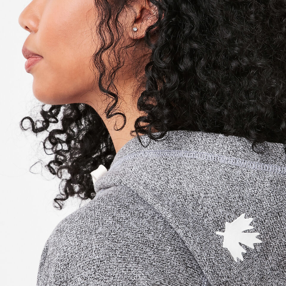 Roots-undefined-Roots Salt and Pepper Original Kanga Hoody-undefined-F