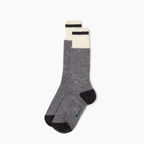 Roots-Women Our Favourite New Arrivals-Womens Roots Pop Cabin Sock 2 pack-Grey Mix-A