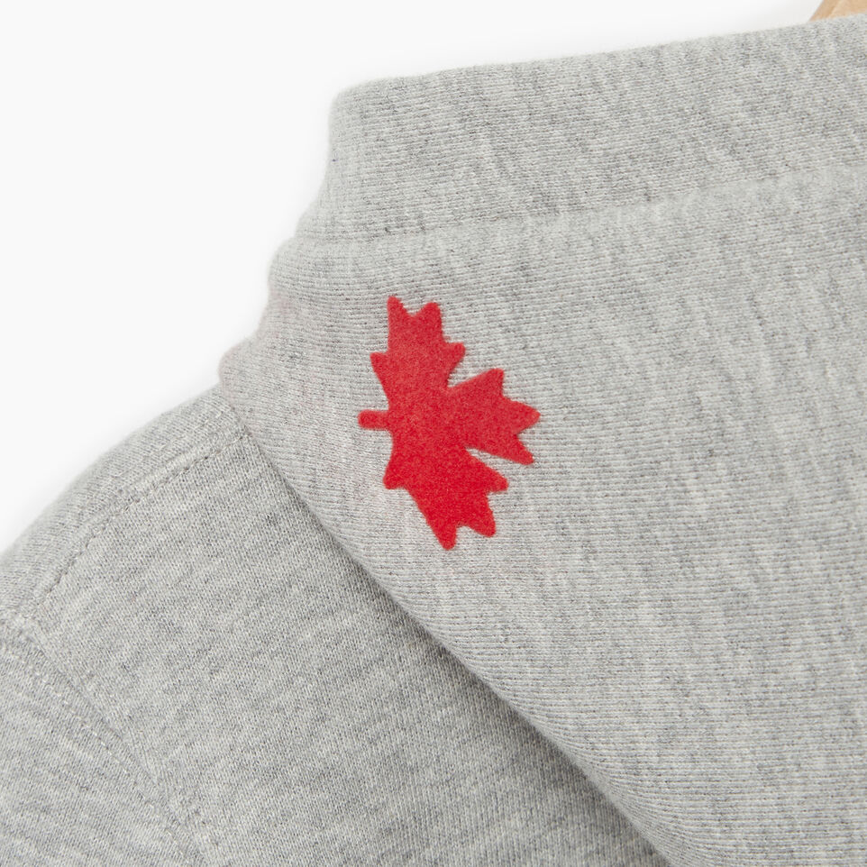 Roots-Kids Categories-Girls Roots Varsity Kanga Hoody-Grey Mix-E
