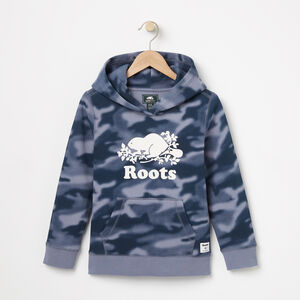 Roots-Kids Sweats-Boys Blurred Camo Kanga Hoody-Flint Stone-A
