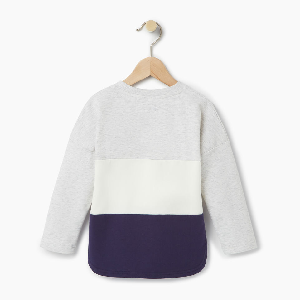 Roots-undefined-Toddler Colour Block Sweatshirt-undefined-B