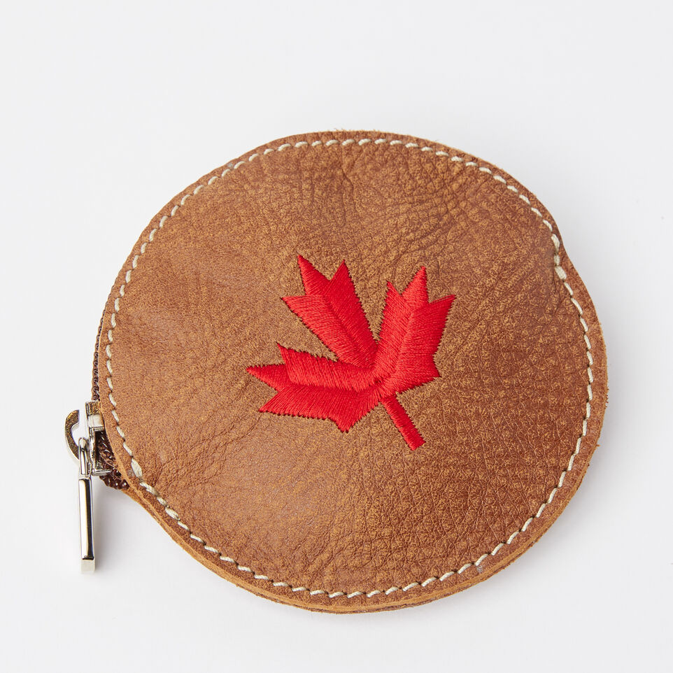 Roots-undefined-Maple Leaf Coin Pouch Tribe-undefined-A