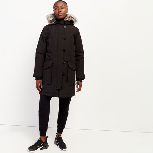 Roots-Women Outerwear-Portage Heritage Parka-Black-A