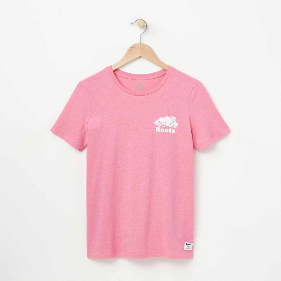 Roots-Womens Cooper Left Chest T-shirt