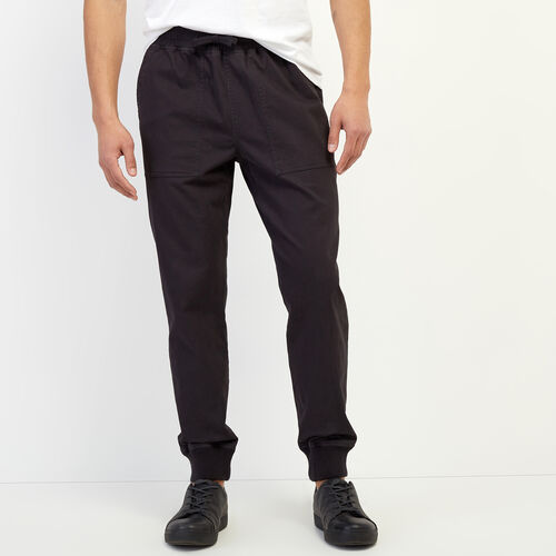 Roots-Men New Arrivals-Journey Jogger-Dark Grey-A