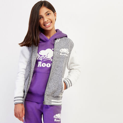 Roots-Gifts Gifts For Kids-Girls Cooper Awards Jacket-Salt & Pepper-A