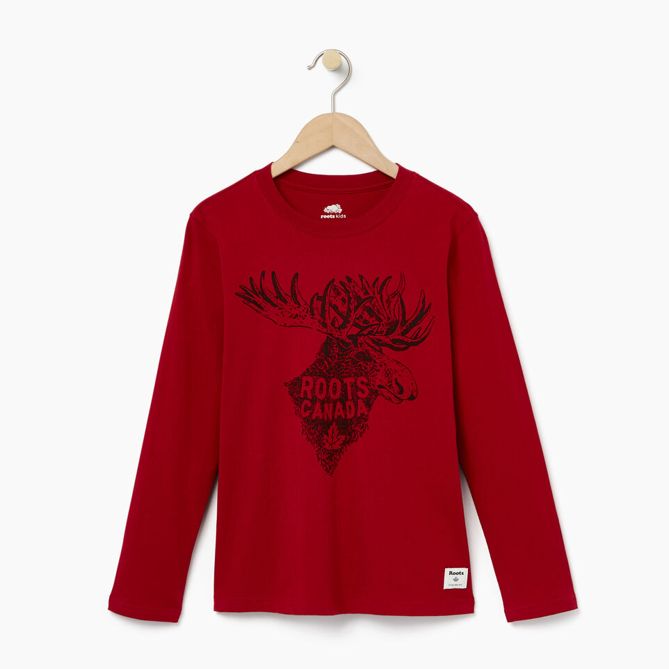 Roots-undefined-Boys Wilderness T-shirt-undefined-A