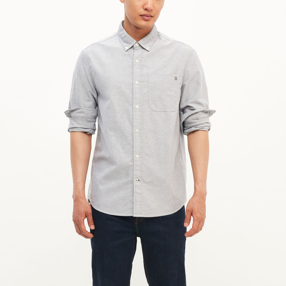 Roots-undefined-Canadore Oxford Shirt-undefined-A