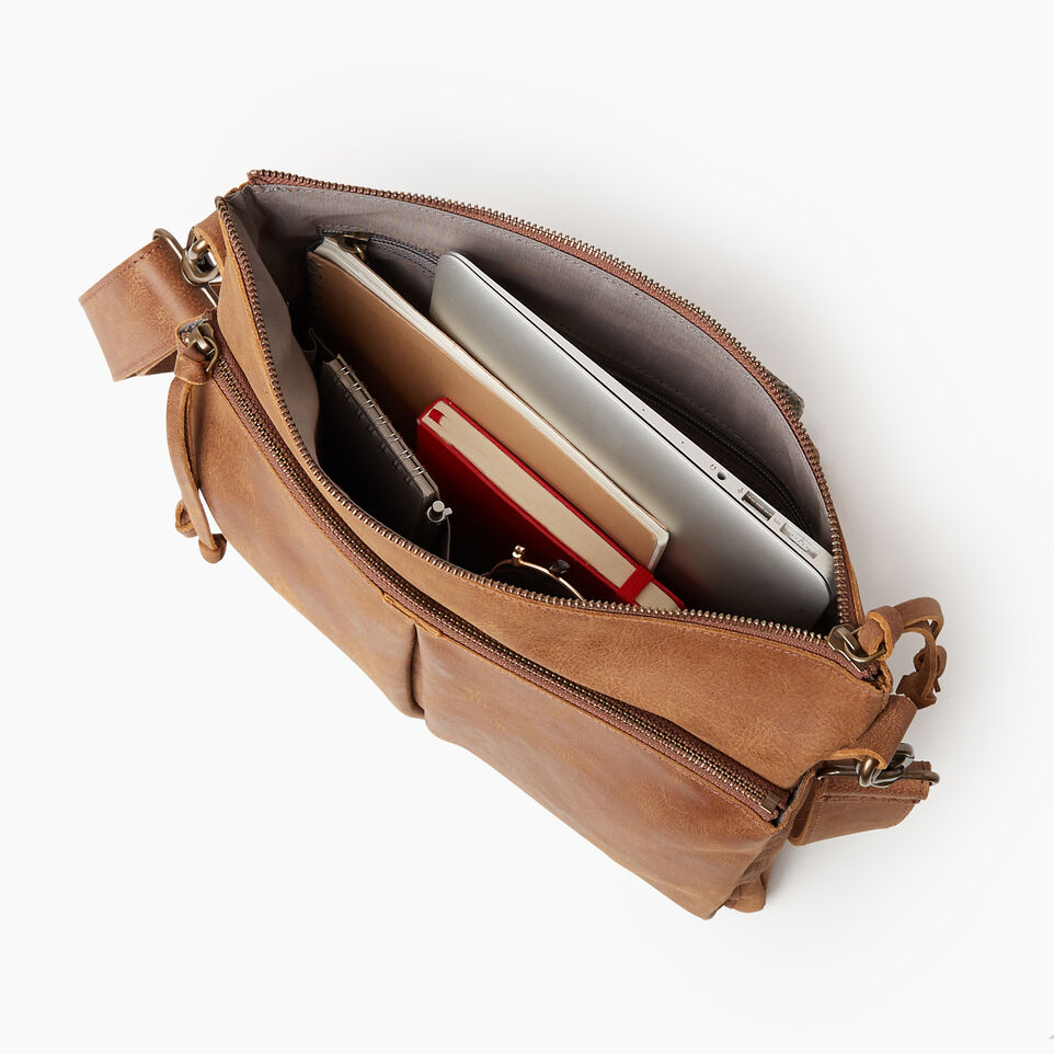 Roots-Leather New Arrivals-Cargo Bag Tribe-Natural-D