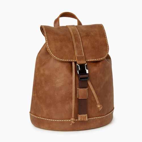 Roots-Men Backpacks-City Hiking Pack Tribe-Natural-A
