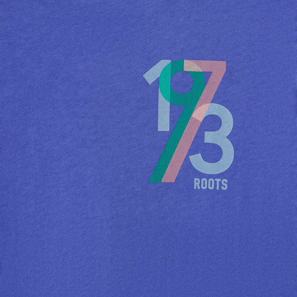 Roots-New For July Daily Offer-Womens 1973 T-shirt-Violet Storm-D