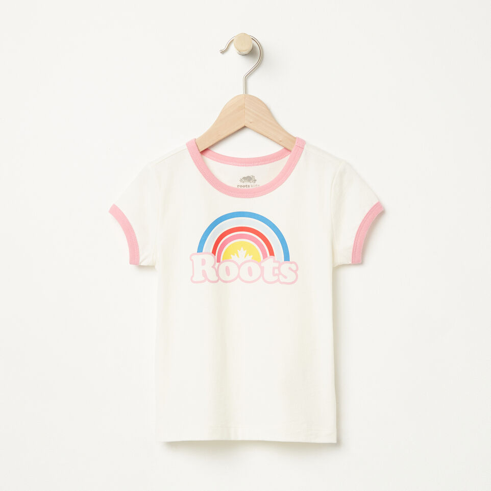 Roots-undefined-Toddler Cooper Rainbow Ringer T-shirt-undefined-A