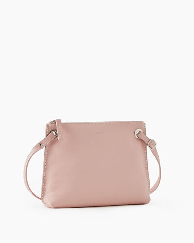 Roots-Leather New Arrivals-Edie Bag Cervino-Pink Pearl-A