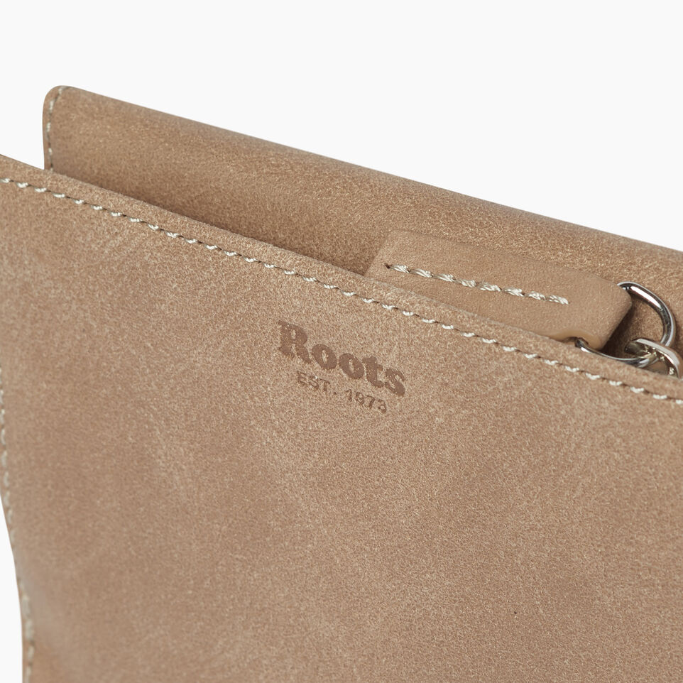 Roots-Leather  Handcrafted By Us Our Favourite New Arrivals-Riverdale Wallet-Sand-E