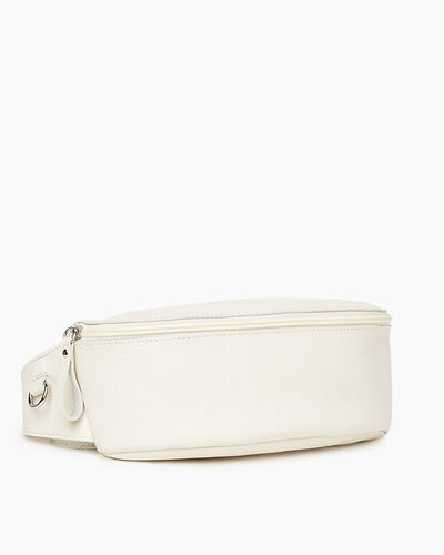 Roots-Leather New Arrivals-Large Belt Bag Cervino-Ivory-A