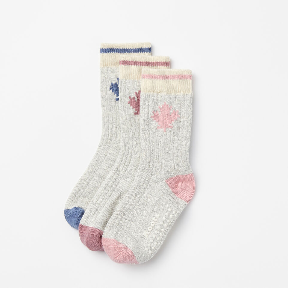 Roots-undefined-Toddler Maple Cabin Sock 3 Pack-undefined-A